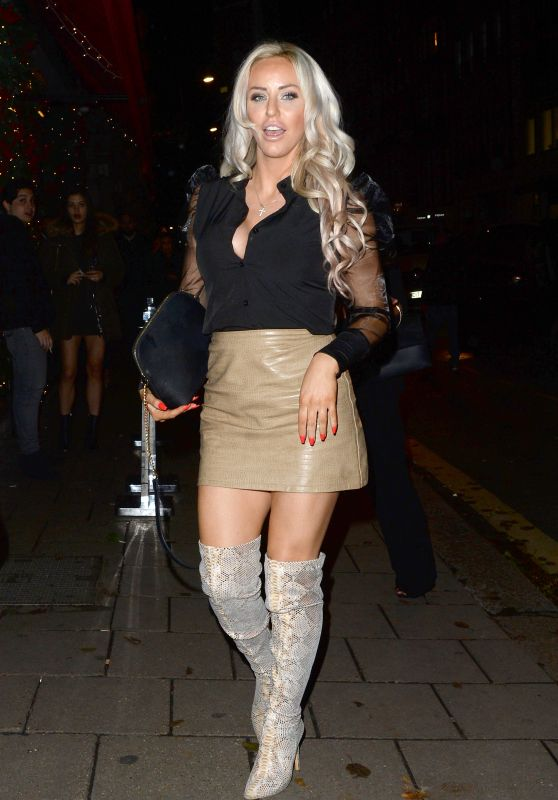 Danielle Mason Night Out Style 12/06/2019