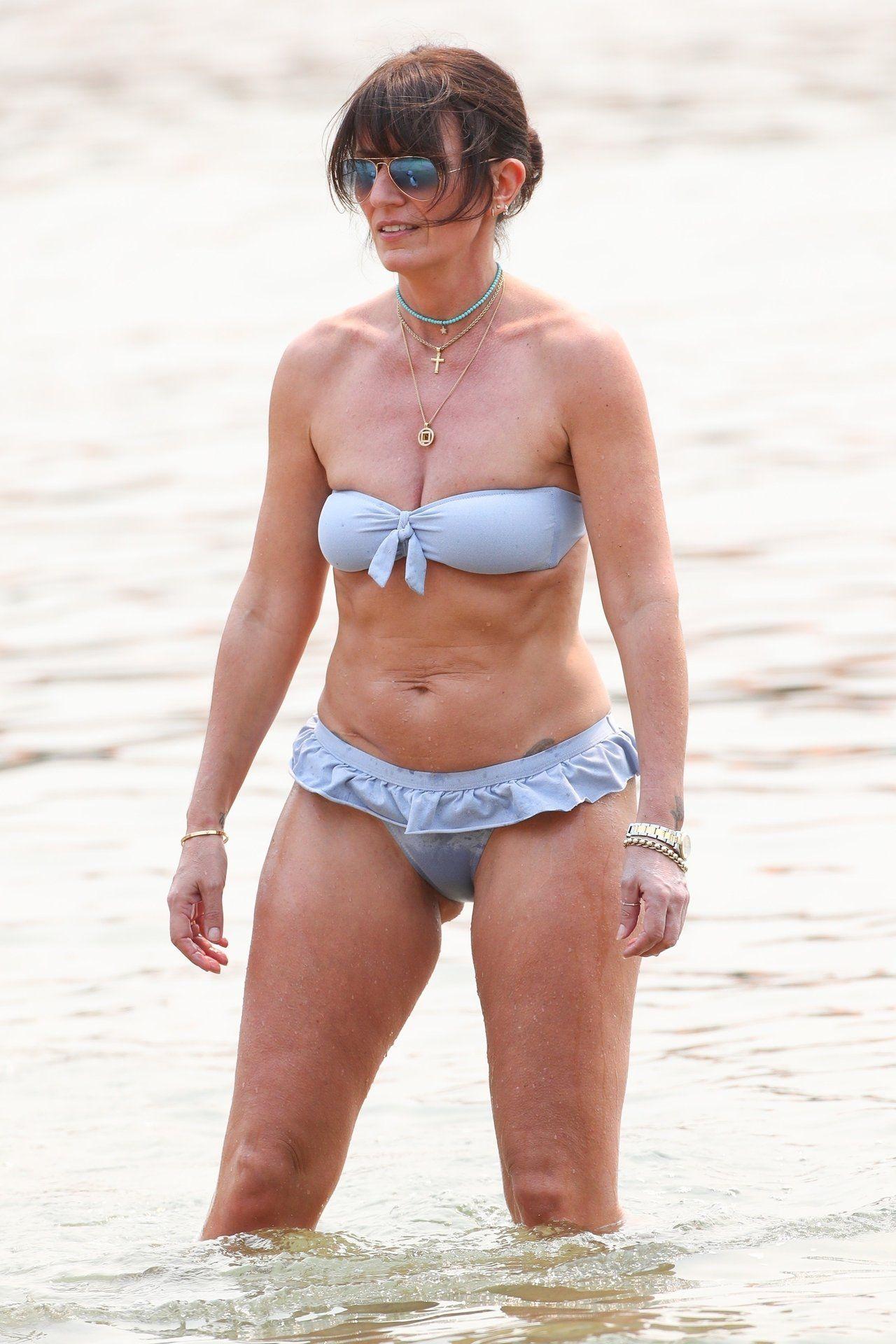 Bikini Davina mccall Davina McCall,