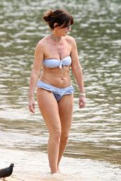 Davina McCall in a Bikini - December 2019