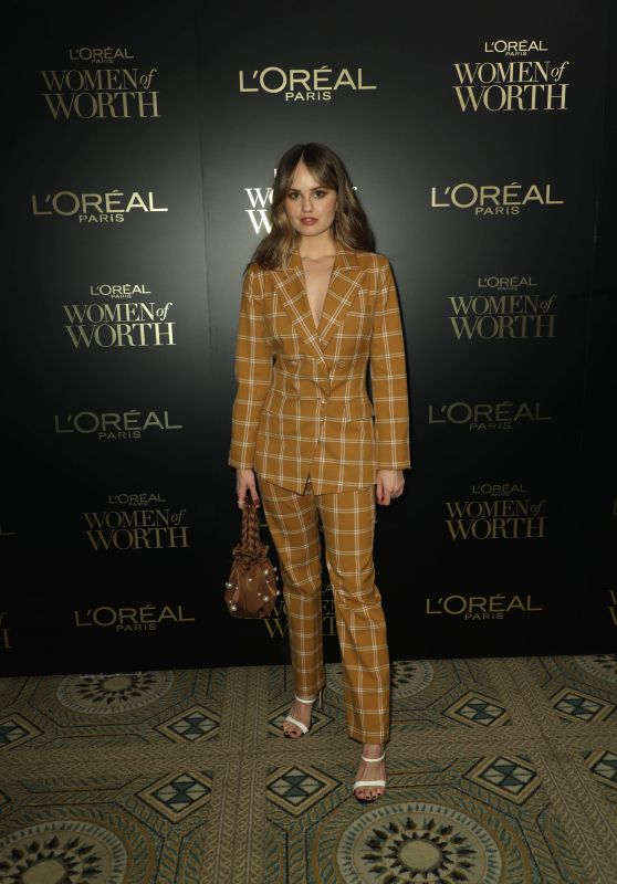 Debby Ryan – L'Oreal Paris Women Of Worth Awards 2019 in NYC