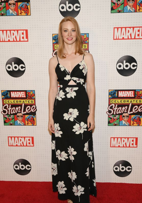 Deborah Ann Woll – Marvel Celebrates Stan Lee in NY 12/11/2019