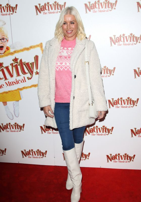 """Denise Van Outen – """"Nativity! The Musical"""" Press Night Performance in London"""