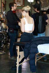Dove Cameron - On a Set in LA 12/05/2019