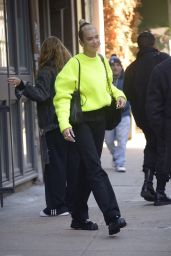 Dua Lipa Street Style - Leaves Her Apartment in NYC 12/21/2019