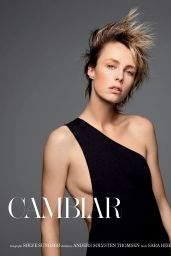 Edie Campbell - Vogue Magazine Spain January 2020 Issue