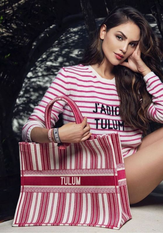 Eiza Gonzalez - Photoshoot for Dior in Tulum, December 2019