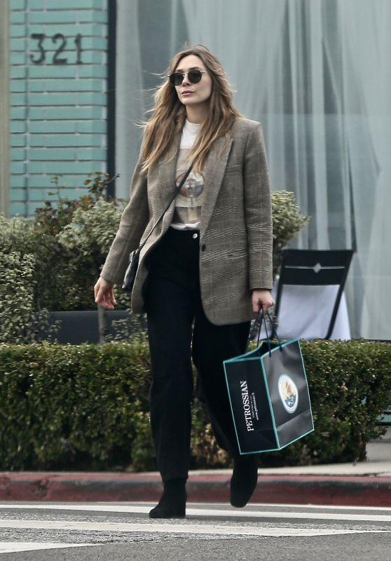 Elizabeth Olsen - Shopping in Beverly Hills 12/22/2019