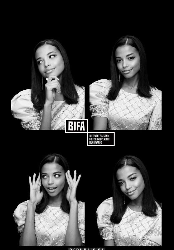 Ella Balinska - 22nd British Independent Film Awards Photo Booth