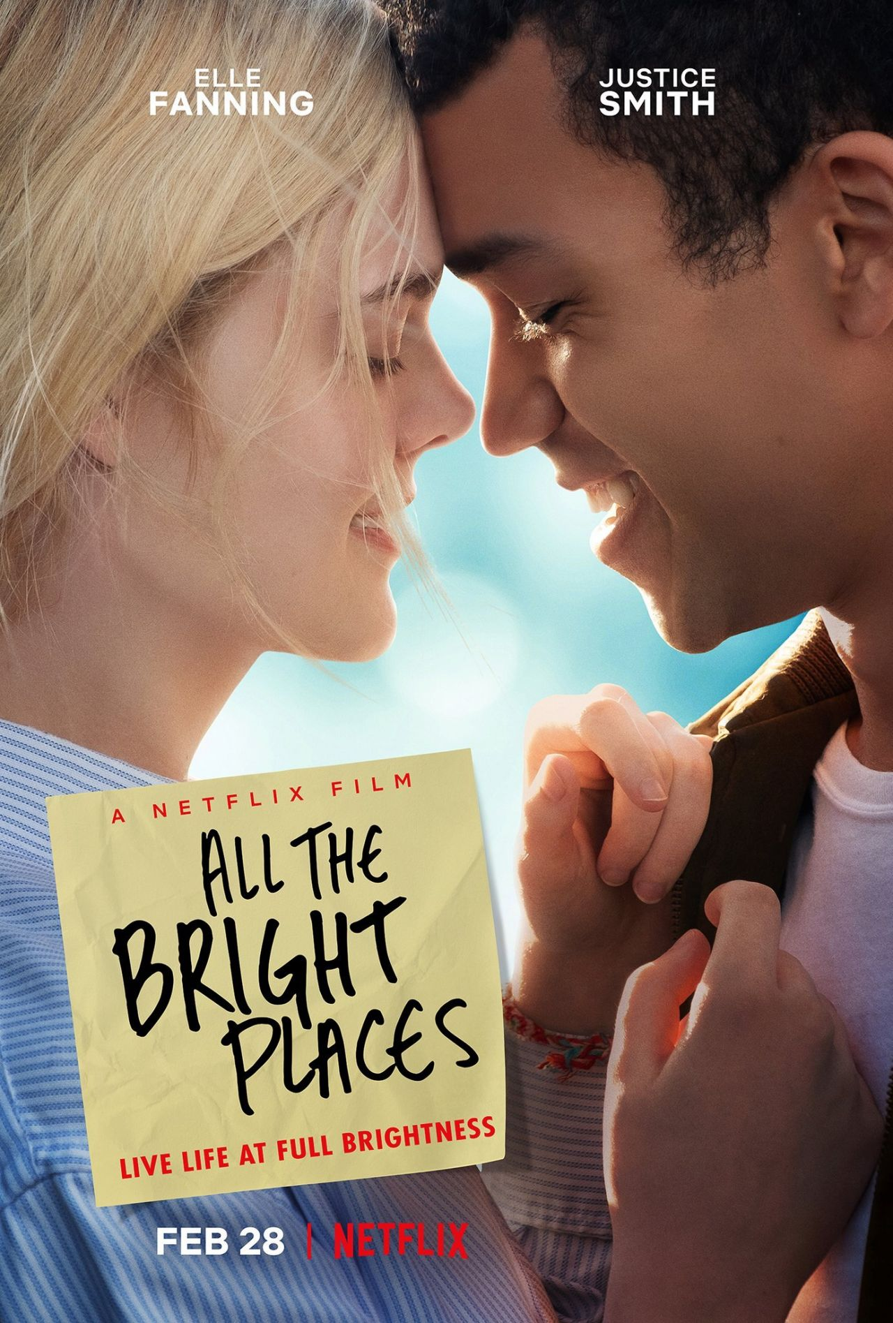 Image result for all the bright places poster