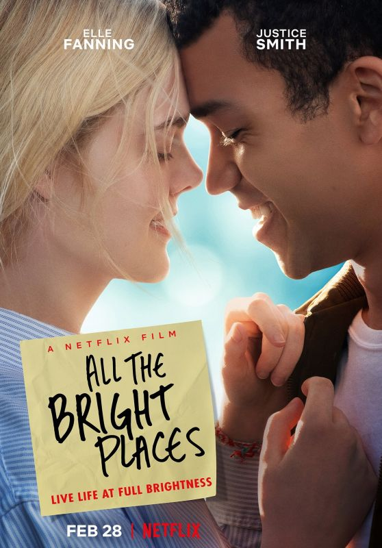 "Elle Fanning - ""All the Bright Places"" Promo Poster 2019"