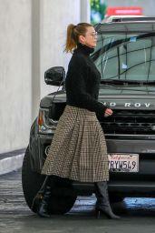 Ellen Pompeo - Leaving E Baldi in Beverly Hills 12/14/2019