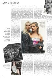 Ellie Bamber and Sophie Cookson - Vogue UK January 2020 Issue
