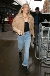 Ellie Goulding - Arriving for a BBC 1 Live Lounge Performance in London 12/17/2019
