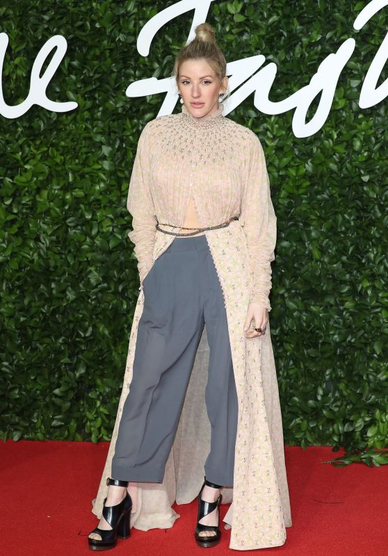 Ellie Goulding – Fashion Awards 2019 Red Carpet in London