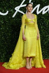 Emilia Clarke – Fashion Awards 2019 Red Carpet in London