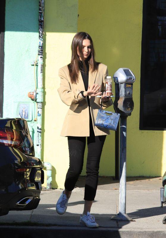 Emily Ratajkowski - Out in Los Angeles 12/19/2019