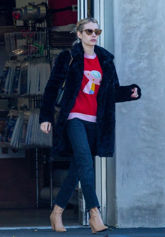 Emma Roberts Street Style 12/24/2019