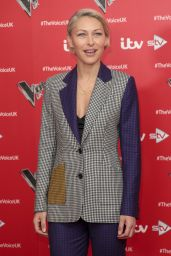 """Emma Willis - """"The Voice"""" TV Show Photocall in London 12/16/2019"""