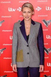 "Emma Willis - ""The Voice"" TV Show Photocall in London 12/16/2019"