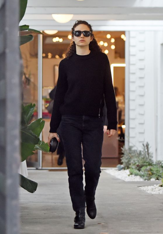 Emmy Rossum - Holiday Shopping in Beverly Hills 12/14/2019