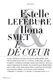 Estelle Lefébure & Ilona Smet - Madame Figaro 12/06/2019 Issue