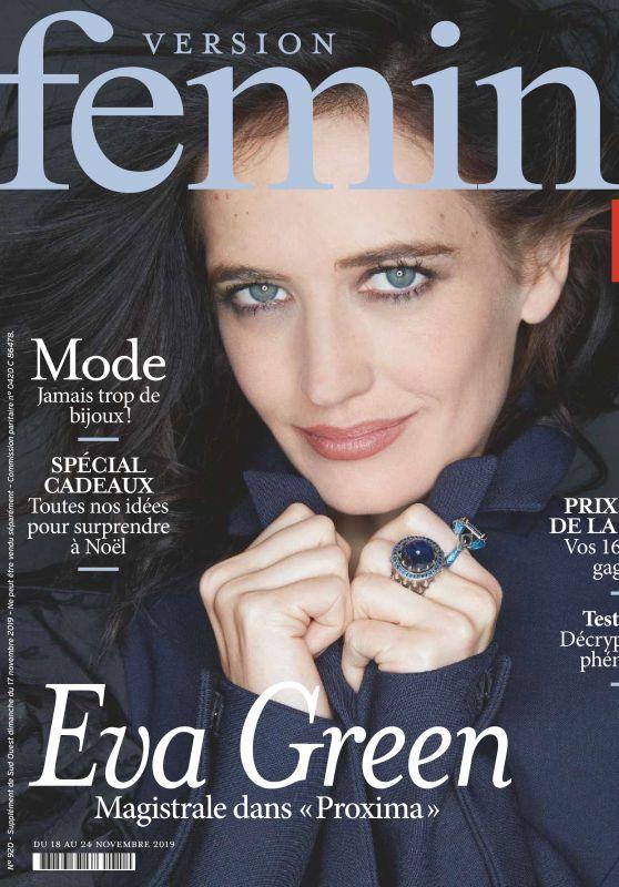 Eva Green - Version Femina November 2019 Issue