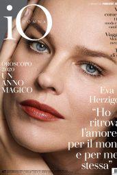 Eva Herzigová - Io Donna del Corriere Della Sera 12/28/2019 Issue