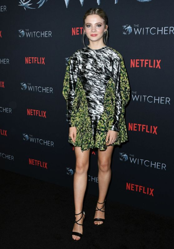 "Freya Allan – ""The Witcher"" Season 1 Photo Call in Hollywood"