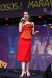 """Gal Gadot - """"Wonder Woman"""" Panel at Argentina Comic Con in Buenos Aires 12/08/2019"""