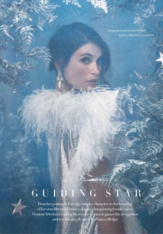 Gemma Arterton - Harpers Bazaar UK January 2020 Issue