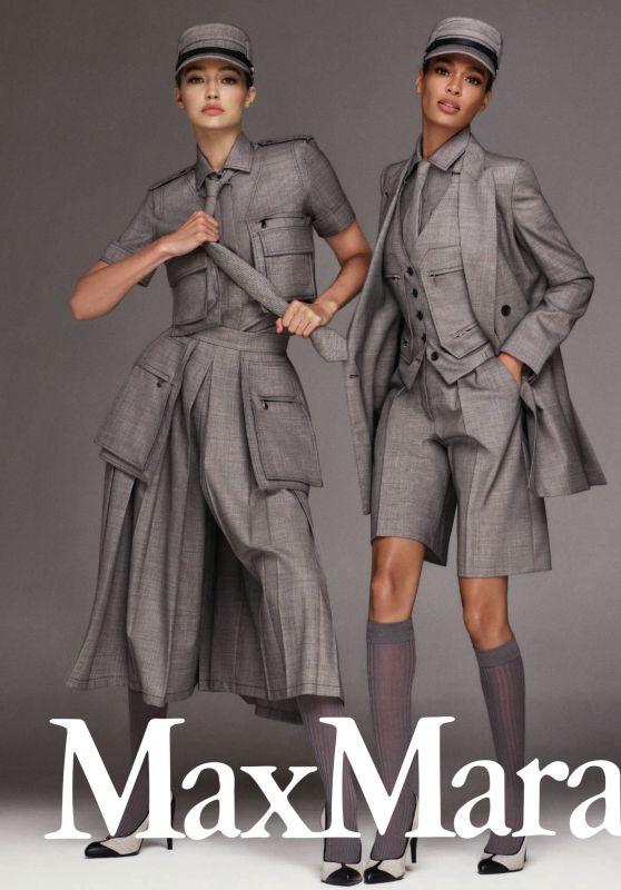 Gigi Hadid and Joan Smalls - Max Mara's Spring/Summer 2020 Campaign