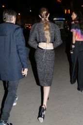 Gigi Hadid - Leaving the Chanel After Show in Paris 12/04/2019