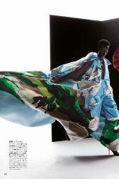 Grace Elizabeth & Anok Yai - Vogue Magazine Japan January 2020 Issue