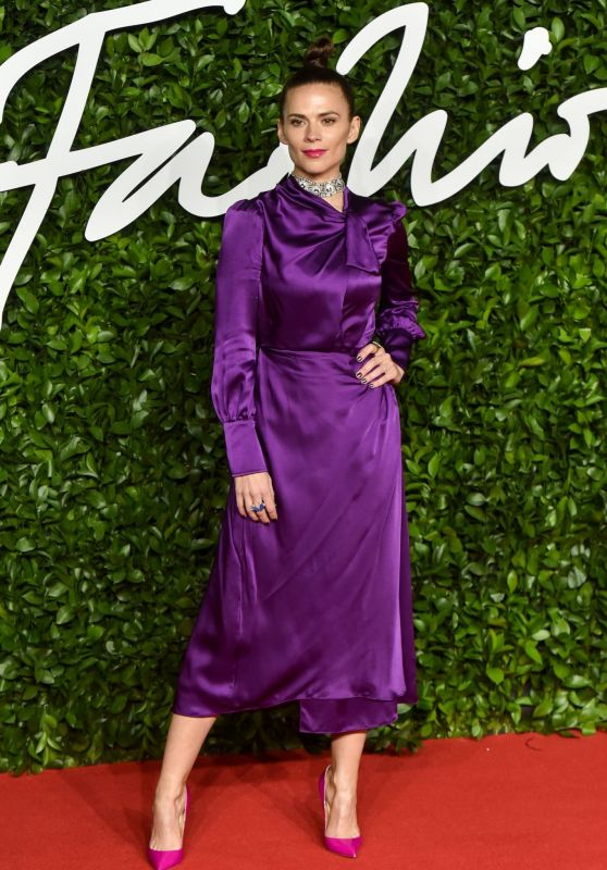 Hayley Atwell – Fashion Awards 2019 Red Carpet in London