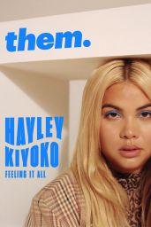 Hayley Kiyoko - them. Magazine 2019