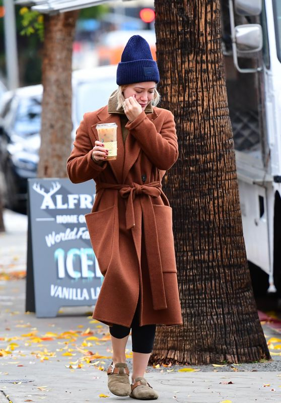 Hilary Duff - Out in LA 12/26/2019
