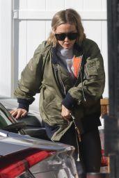 Hilary Duff Street Style - Alfred Coffee in Studio City 12/27/2019