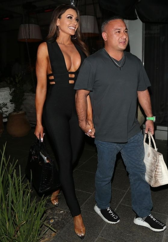 Holly Sonders and Vegas Dave - Christmas Eve Dinner Date in Beverly Hills 12/25/2019