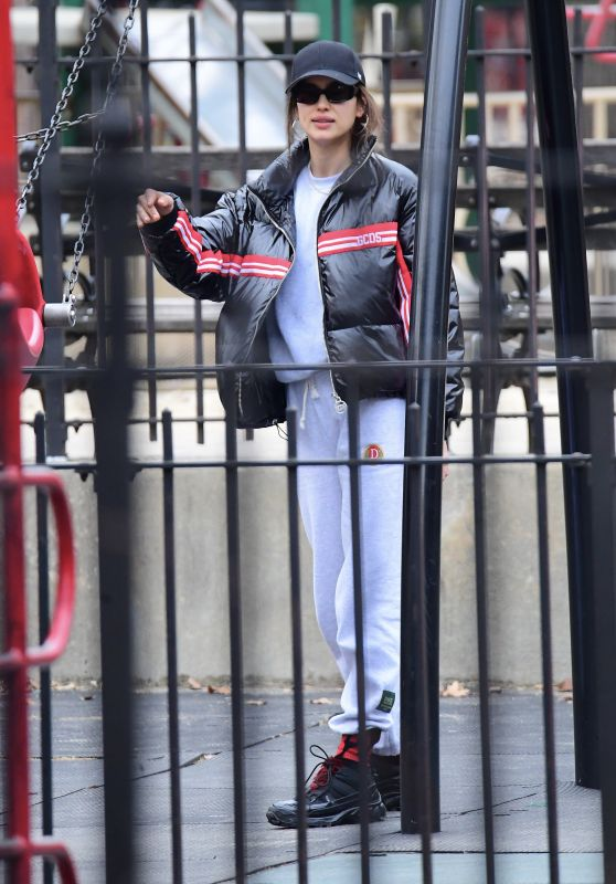 Irina Shayk - Out in New Jersey 12/26/2019