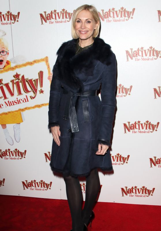 "Jenni Falconer – ""Nativity! The Musical"" Press Night Performance in London"