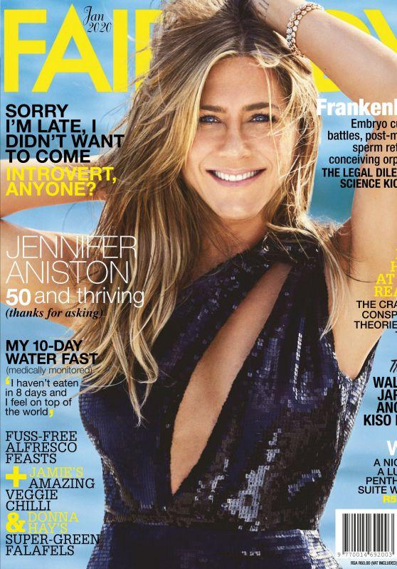 Jennifer Aniston - Fairlady Magazine January 2020 Issue