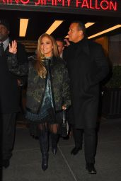 Jennifer Lopez - After Saturday Night Live Rehearsals in NYC 12/06/2019