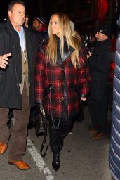 Jennifer Lopez - Arriving to Appear on SNL Cast Dinner in New York 12/03/2019