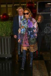 "Jennifer Lopez - Arriving to Appear on ""The Tonight Show Starring Jimmy Fallon"" 12/02/2019"
