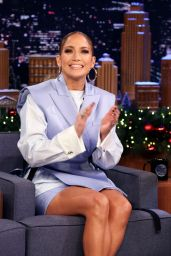 Jennifer Lopez - Tonight Show With Jimmy Fallon in New York 12/05/2019