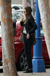 Jessica Biel Street Style - Running Errands in LA 12/03/2019