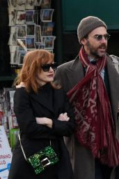 Jessica Chastain and Her Husband Gian Luca Passi - Venice 12/30/2019