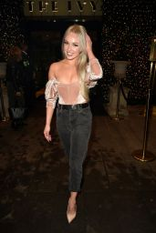 Jorgie Porter - Night Out at The Ivy Restaurant in Manchester 12/06/2019