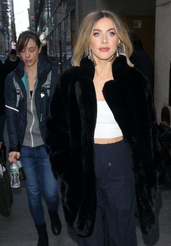 Julianne Hough - Outside the Today Show in New York 12/05/2019