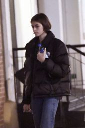 Kaia Gerber - Arriving Back at Her Apartment in NY 12/26/2019